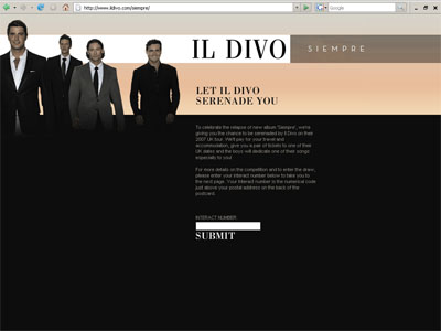 Il Divo - Competition larger