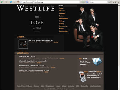 Westlife - Reskin larger
