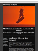 Airforce Kite Surfing larger